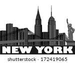 america,american,architecture,black,bridge,brooklyn,capital,city,cityscape,famous,horizontal,house,illustration,known,landmark