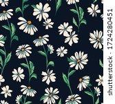 Cute Daisy Print   Seamless...
