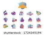 Vector Graphic Set. Icons In...