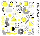 universal trend halftone... | Shutterstock .eps vector #1724352184