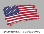 flag of the united states of... | Shutterstock .eps vector #1724379997