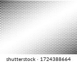 halftone dots background.... | Shutterstock .eps vector #1724388664