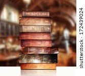 books and library | Shutterstock . vector #172439024
