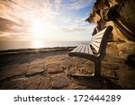 a scenic view of bondi beach... | Shutterstock . vector #172444289