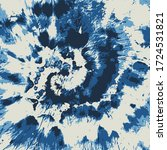 dip dyed flower vector.... | Shutterstock .eps vector #1724531821