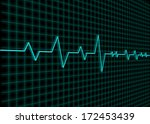 electrocardiogram | Shutterstock . vector #172453439