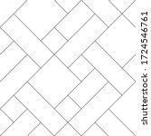 mondrian pattern vector. design ... | Shutterstock .eps vector #1724546761