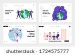 worldwide globalization  job...   Shutterstock .eps vector #1724575777