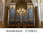 Wells Cathedral Organ Topped...