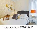 modern luxury bedroom with... | Shutterstock . vector #172463495