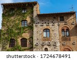 Close Up Of Ancient Houses In...