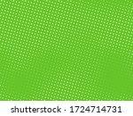 green halftone background.... | Shutterstock .eps vector #1724714731