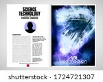 e book application design ...   Shutterstock .eps vector #1724721307