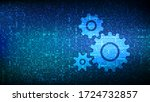 automation software background. ... | Shutterstock .eps vector #1724732857