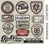 badge graphics | Shutterstock .eps vector #172475045