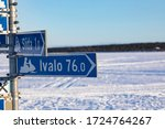Inari  Lapland  Finland   Marc...