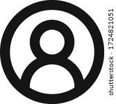 avatar man people circle vector ...   Shutterstock .eps vector #1724821051