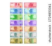 isolated indonesia rupiah money ... | Shutterstock .eps vector #1724853361