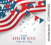 july 4th independence day... | Shutterstock .eps vector #1724904181