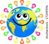 bulb globe | Shutterstock . vector #17249596