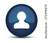 contact icon | Shutterstock .eps vector #172499675