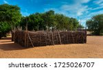 Kraal For The Cattle In A...
