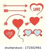 love design over white  ... | Shutterstock .eps vector #172502981