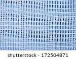 closeup blue modern curtain... | Shutterstock . vector #172504871
