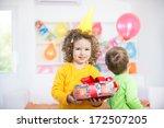 children having fun at a...   Shutterstock . vector #172507205