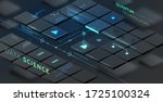 artificial intelligence and... | Shutterstock .eps vector #1725100324