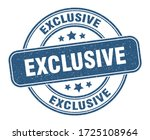 exclusive stamp. exclusive... | Shutterstock .eps vector #1725108964