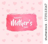 Happy Mothers Day With Pink...