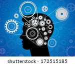 head gears in progress and... | Shutterstock .eps vector #172515185