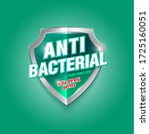 antibacterial hand sanitizer... | Shutterstock .eps vector #1725160051