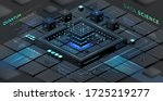 artificial intelligence and...   Shutterstock .eps vector #1725219277
