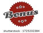 bonus sign. bonus round vintage ...   Shutterstock .eps vector #1725232384