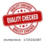 quality checked stamp. quality... | Shutterstock .eps vector #1725232387