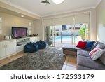 modern entertainment room which ...   Shutterstock . vector #172533179