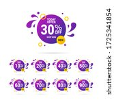 summer sale  end year of...   Shutterstock .eps vector #1725341854