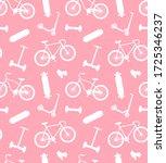 vector seamless pattern of... | Shutterstock .eps vector #1725346237