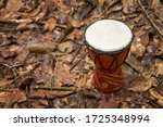 Djembe Drum On The Ground With...