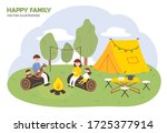 family month concept...   Shutterstock .eps vector #1725377914