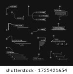 callout headers on black... | Shutterstock . vector #1725421654