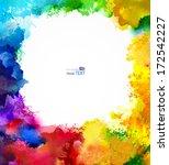 Absract Rainbow Frame....
