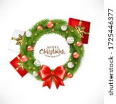 Christmas Wreath With Ball  ...
