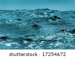 choppy sea | Shutterstock . vector #17254672