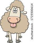 cartoon illustration of funny...   Shutterstock .eps vector #1725500614