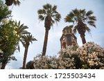 the bell tower of parish church ...   Shutterstock . vector #1725503434