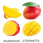 Fresh Mango Fruit. Mango...