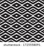 ikat geometric folklore... | Shutterstock .eps vector #1725558091